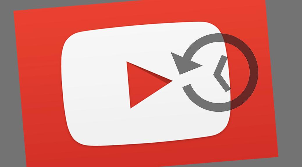 Supprimer automatiquement votre historique YouTube