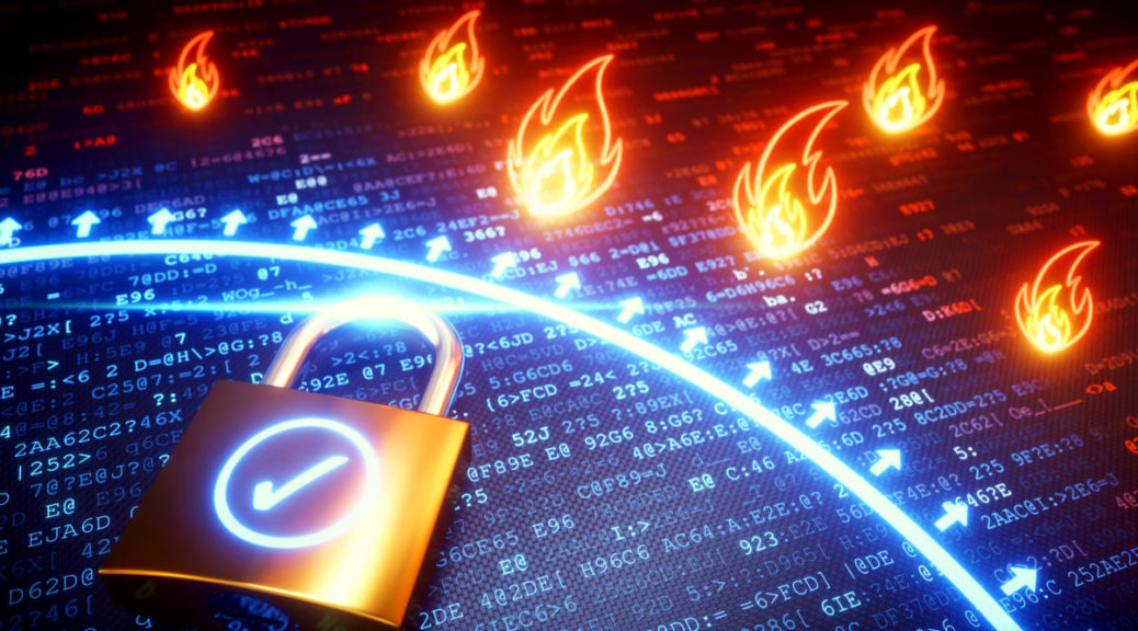 security lock firewall pare-feu