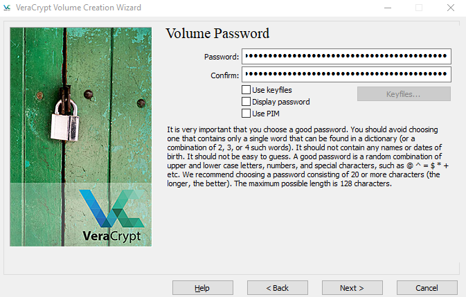 VeraCrypt-setup-volume-password