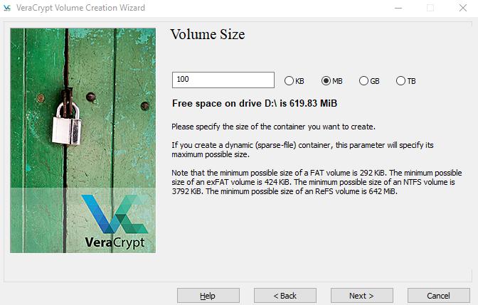 VeraCrypt-setup-volume-size