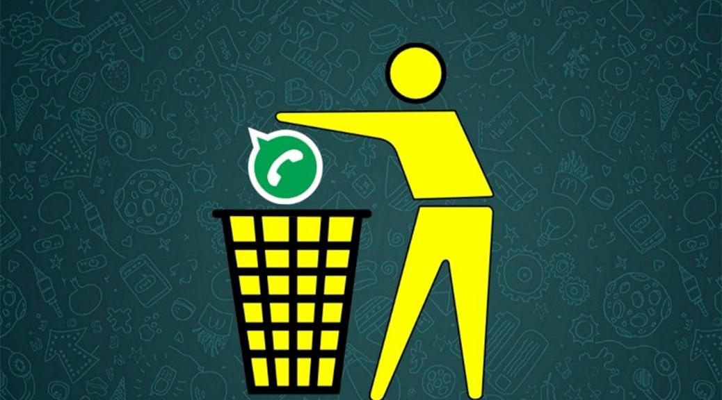 whatsapp poubelle
